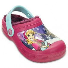 201408 CC Frozen Lined Clog Kids