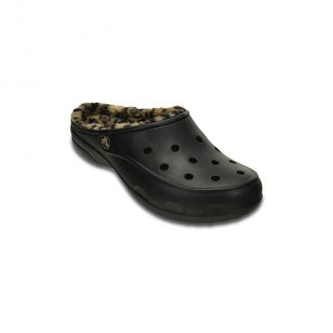 202318 Crocs Freesail Leopard Lined W