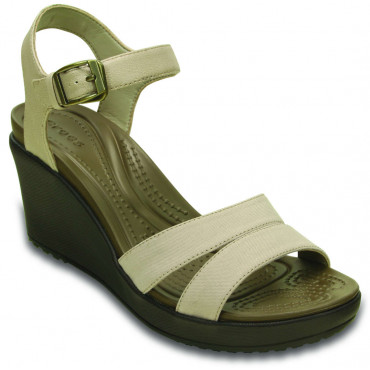 202511 Leigh II  Ankle Strap Wedge - Γυναικεία