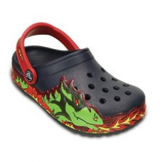 202661 Crocslights Fire Dragon Clog- Παιδικά