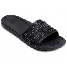 204691  Crocs Sloane Empellished Slide - Γυναικεία