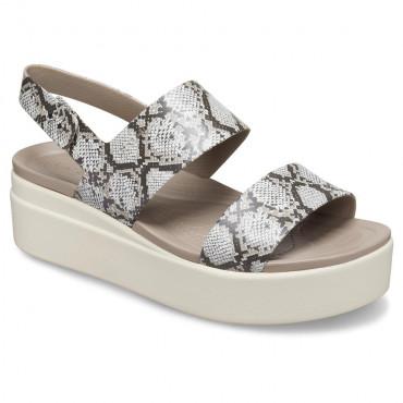 206453 Crocs Brooklyn Low Wedge-Γυναικεία