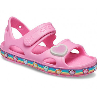 206795 Crocs Fun Lab Rainbow Sandal K-Παιδικά