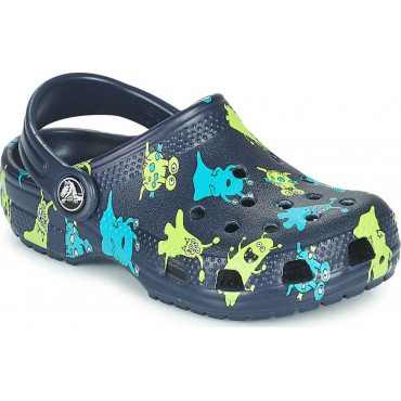206833 Classic Monster Print Clog T-Παιδικά