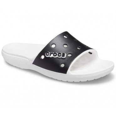 206882 Classic Crocs Colorblock Slide-Unisex