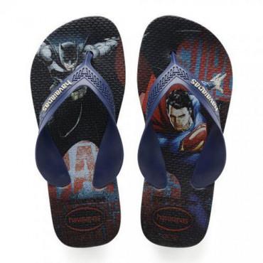 4130302 Navy  Sandals Kids Max Heroes Παιδικές