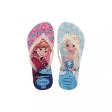 4137266 WHITE Sandals Slim Frozen-Παιδικές