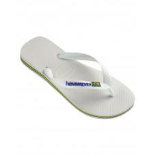 4110850 - WHITE Sandals Brazil Logo Unisex