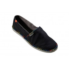 4131852 BLACK Espadrillies Origine Detail Women