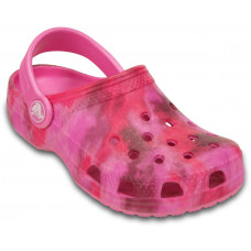 200443 Classic Tie Dye Graphic Clog Kids